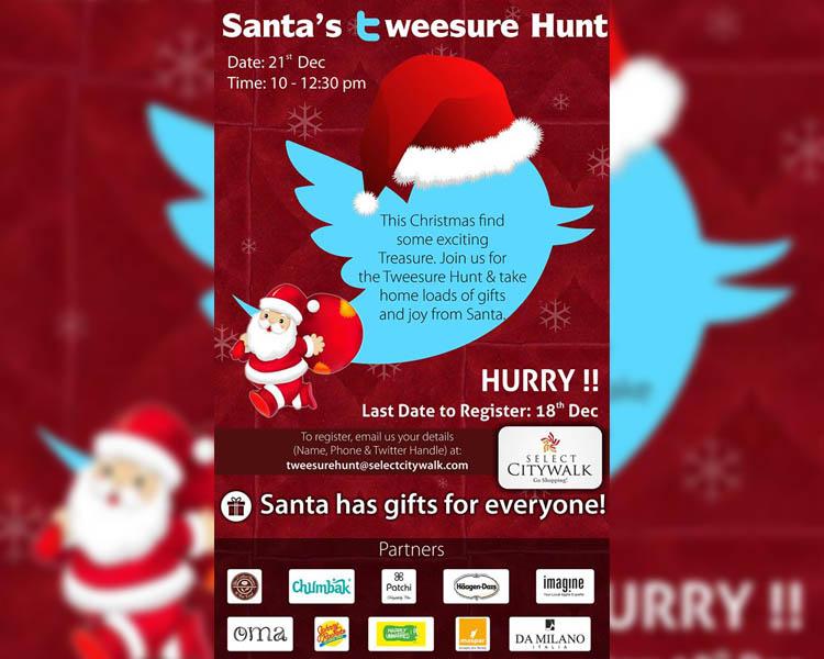 Santa's tweesure hunt