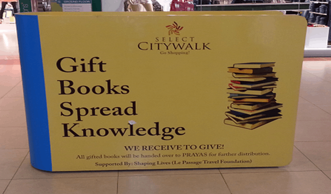 Charity Initiative by Select CITYWALK