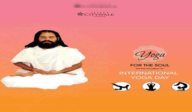 We celebrated 'International Yoga Day' 21st June at Plaza.