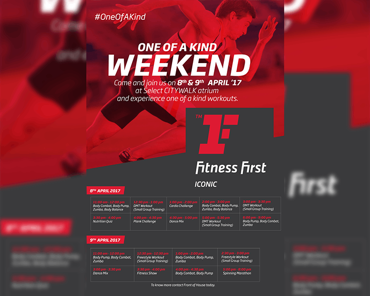 Fitness First #Oneofakind