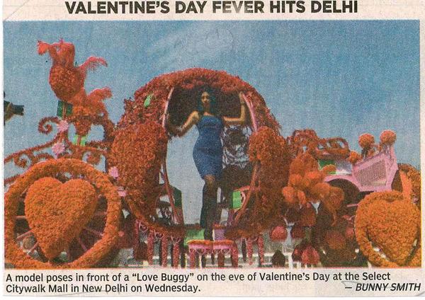 Valentine's Day Fever Hits Delhi