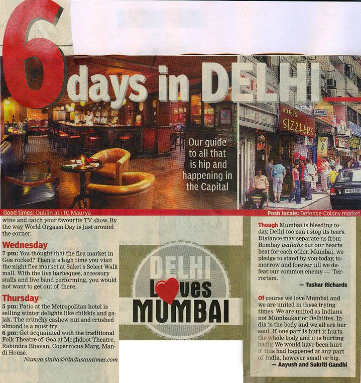 6 Days In Delhi- NOV