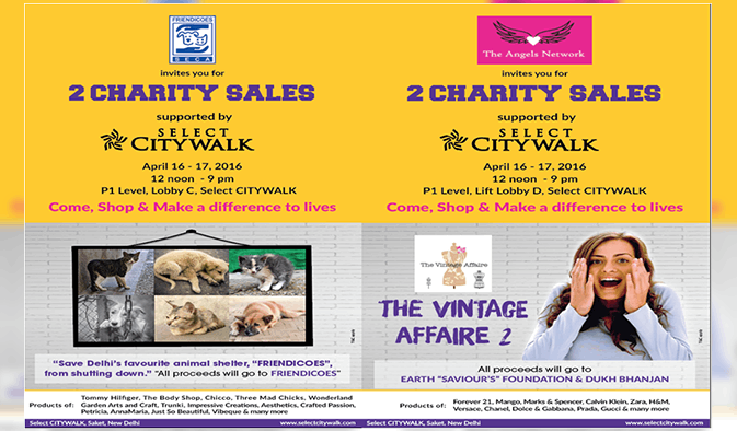 Charity Sales to support Friendicoes, Earth Saviour's Foundation & Dukhbhanjan