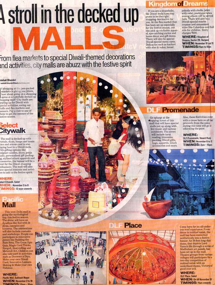 A Stroll In The Decked Up Malls