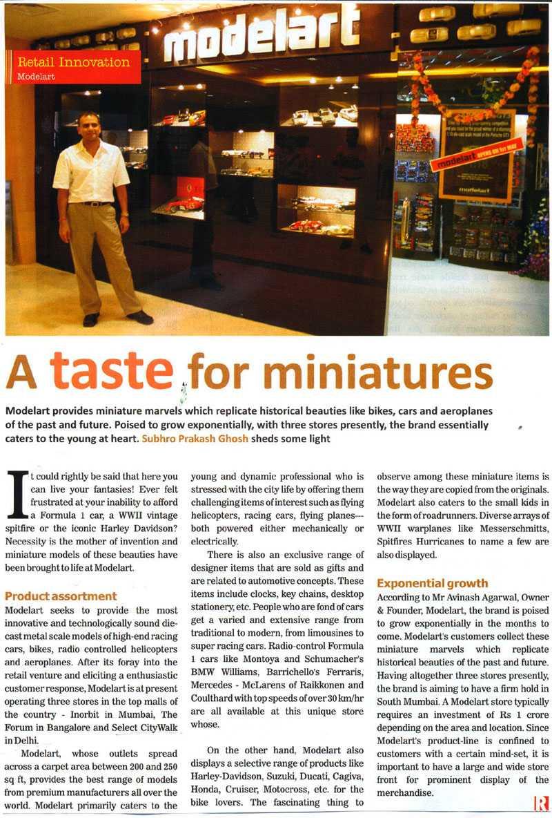 A Taste For Miniatures-SEP