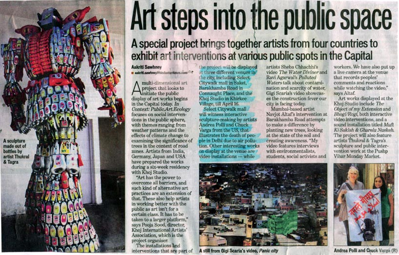 Art Steps Into The Public Space-APR