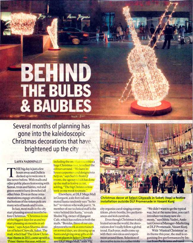 Behind The Bulbs And Baubles