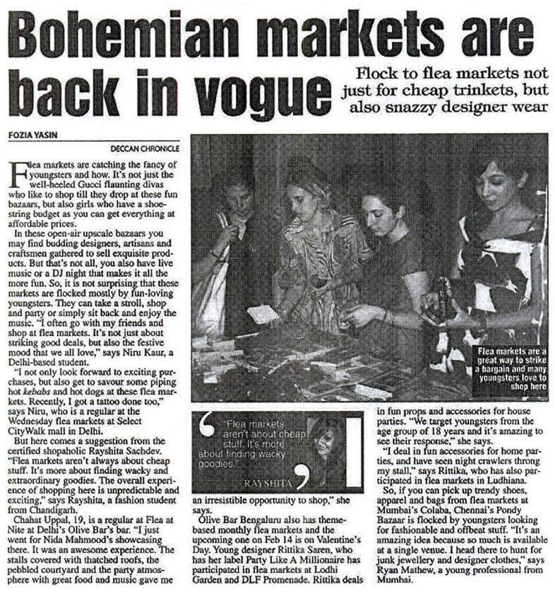 Bohemian Markets Are Back In Vogue