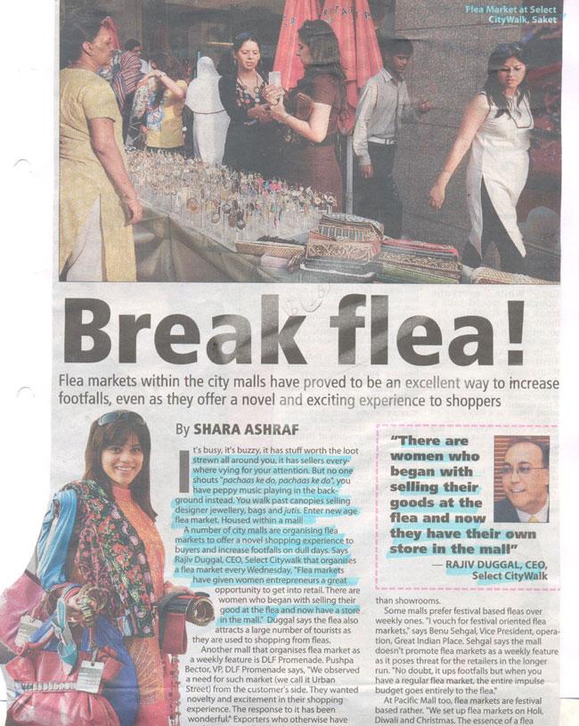 Break Flea-MAR