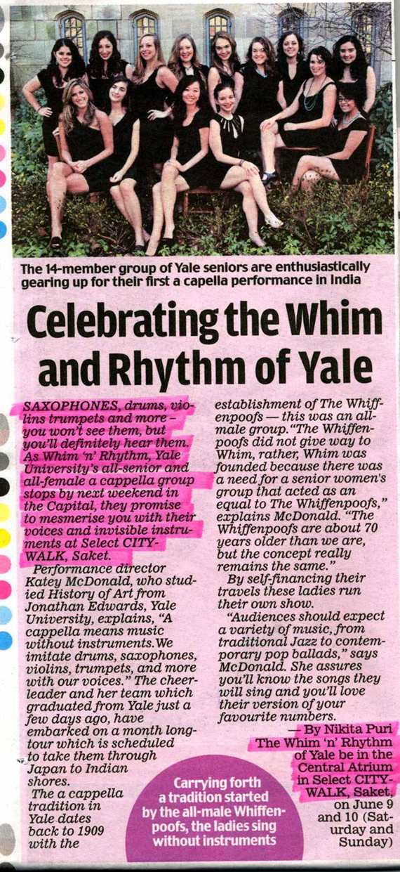 Celebrating The Whim N Rhythm Of Yale