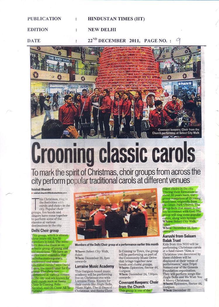 Crooning Classic Carols