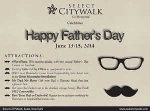 Daddy's day out' to #SelectCITYWALK