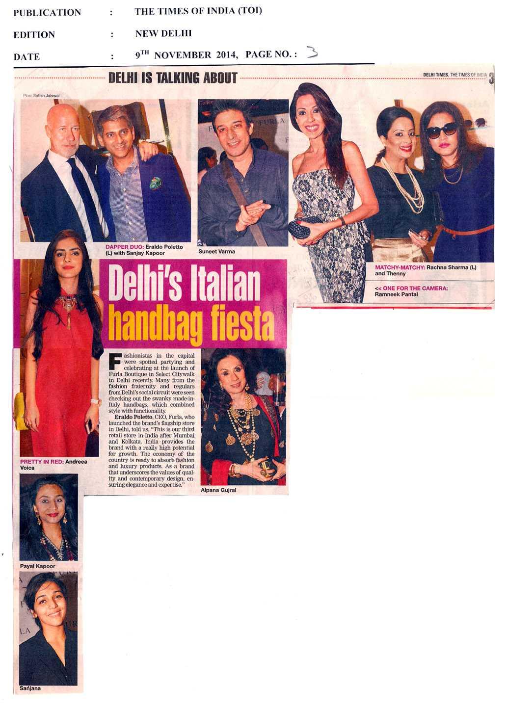 Delhi's Italian Handbags fiesta