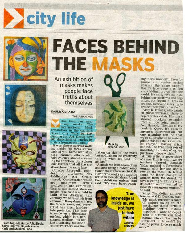 Faces Behind The Masks