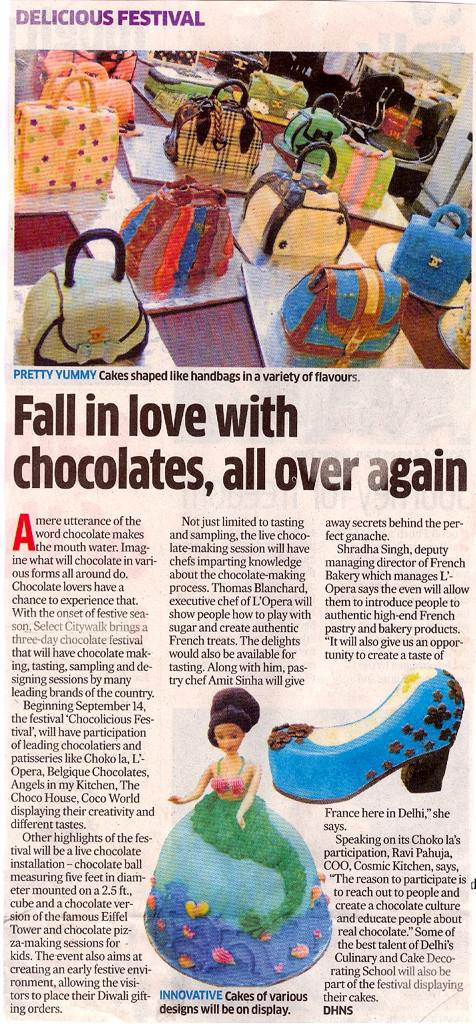 Fall In Love With Chocolates, all Over Again.