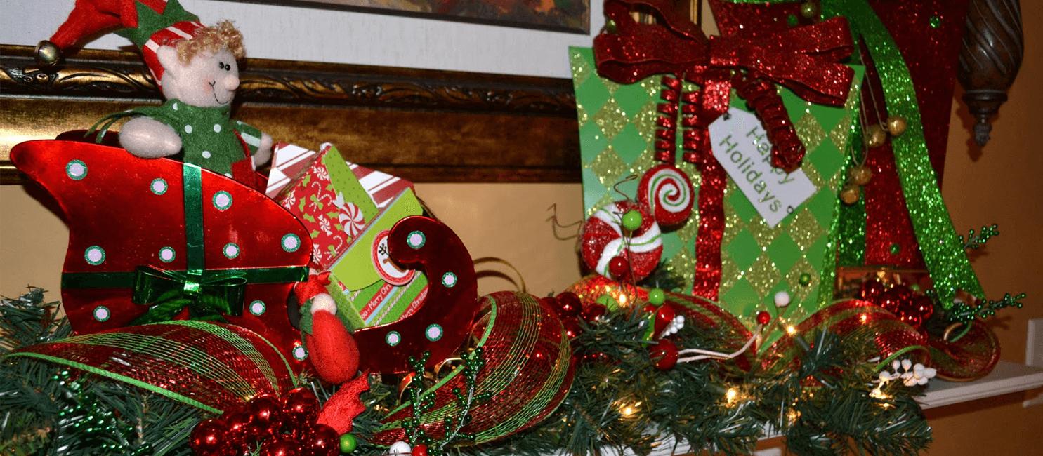 Santa Stic Secorations!