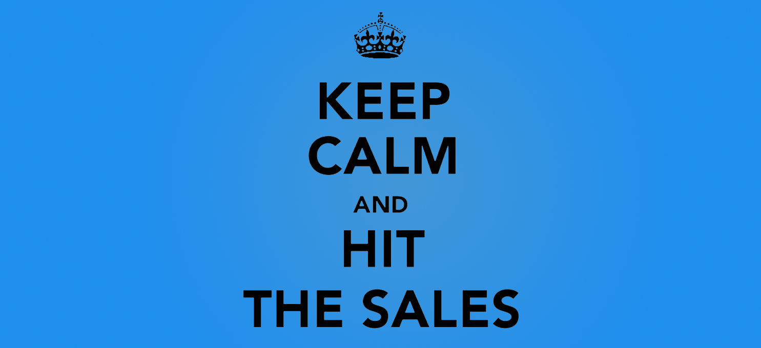 5 reasons why SALES are the best