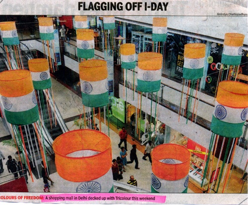 Flagging Of I-Day