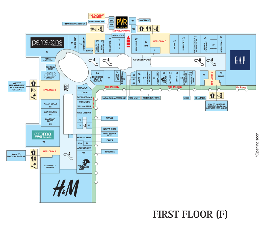 Samsung select citywalk india for Select floor plans