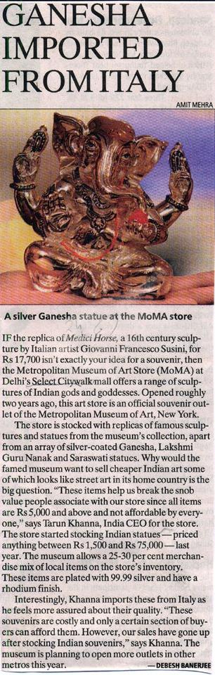Ganesha Imported From Italy