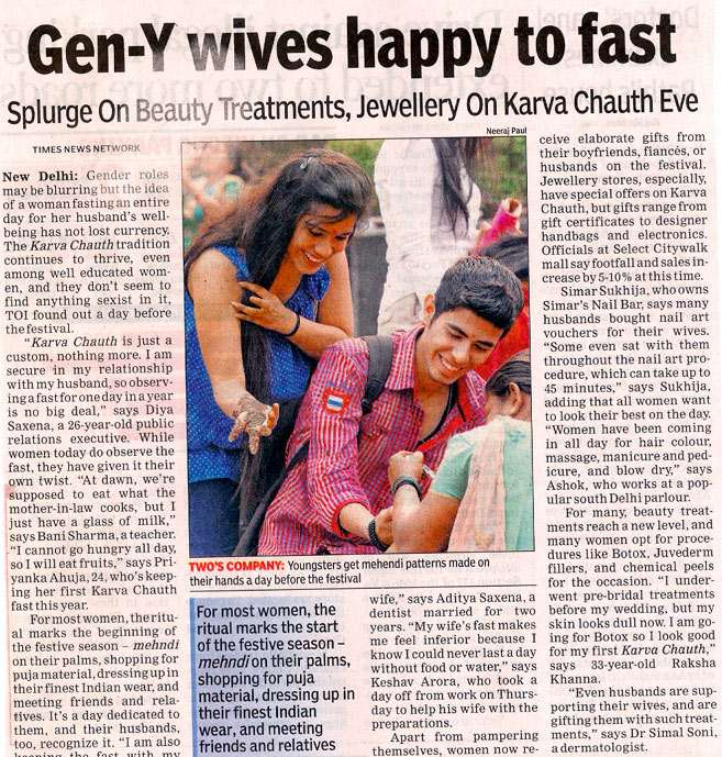 Gen Y Wives Happy To Fast