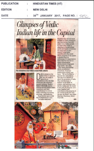 Glimpses of Vedic Indian life in the Capital
