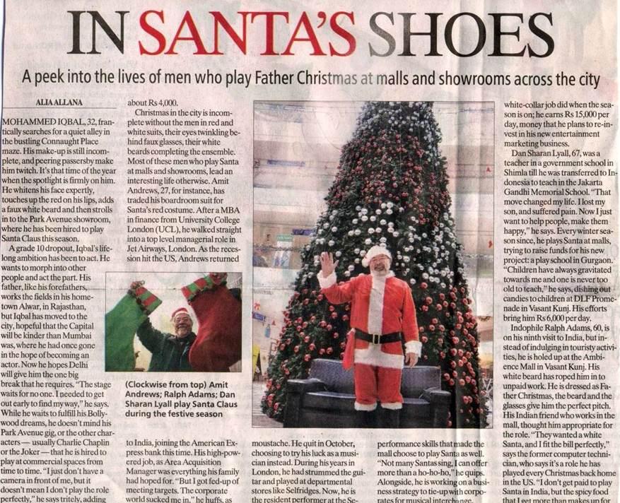 In Santas Shoes-DEC