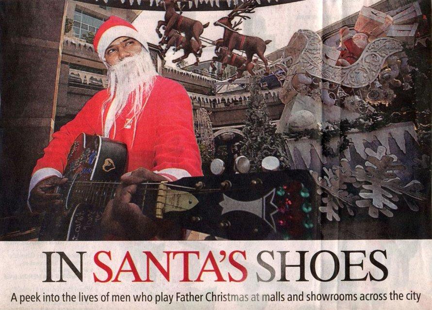 In Santas Shoes- Indian Shoes-DEC