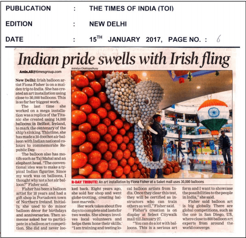 Indian Pride Swells with Irish Fling