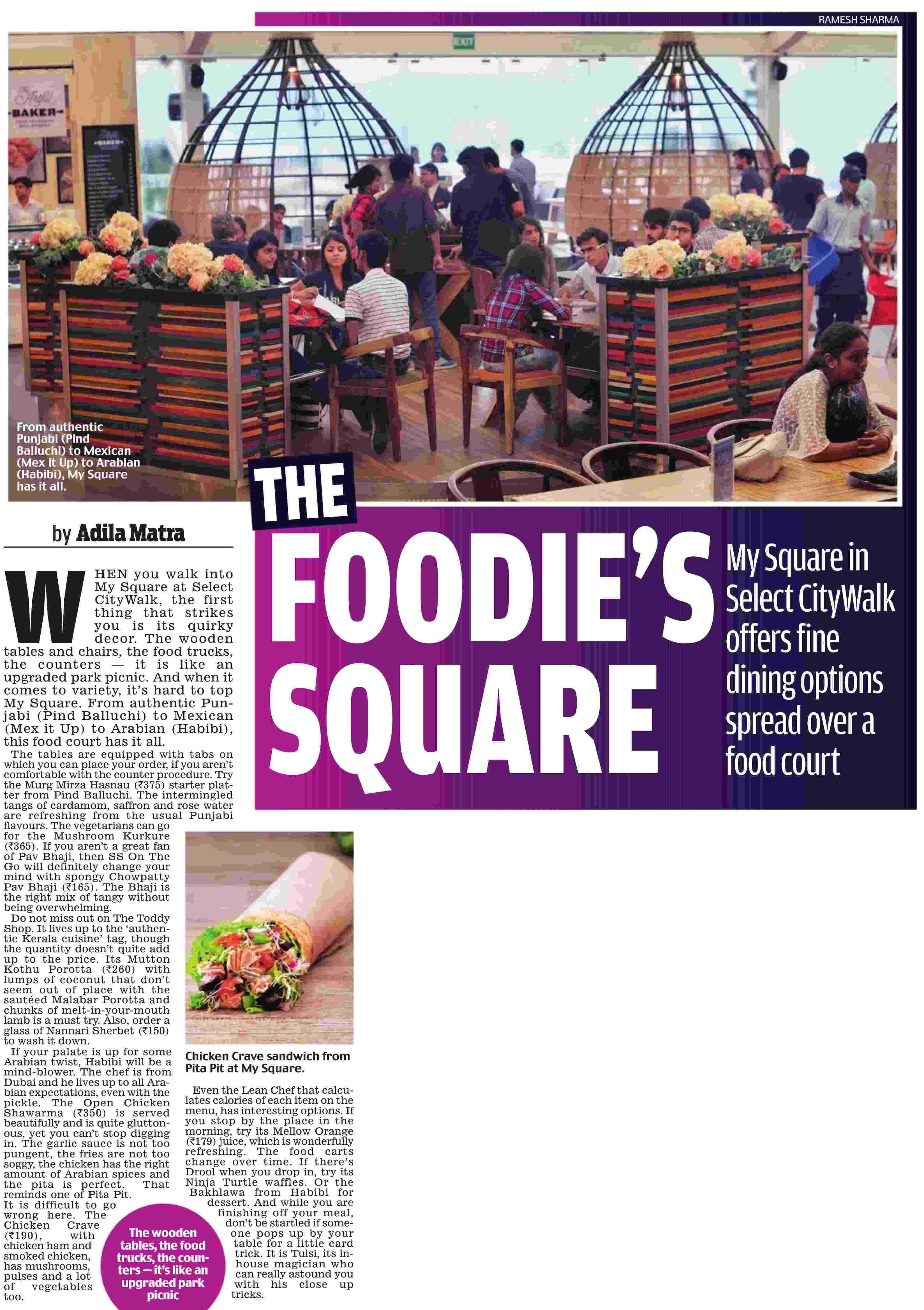 The Foodie's Square