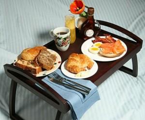 Make him Breakfast in Bed