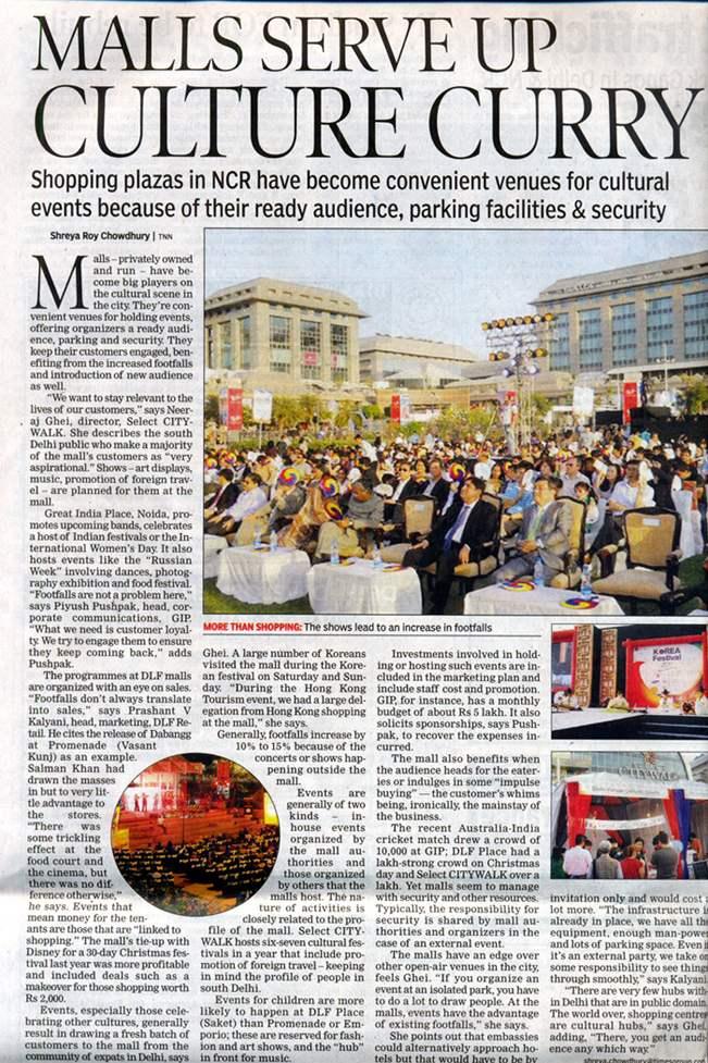 Malls Serve Up Culture Curry