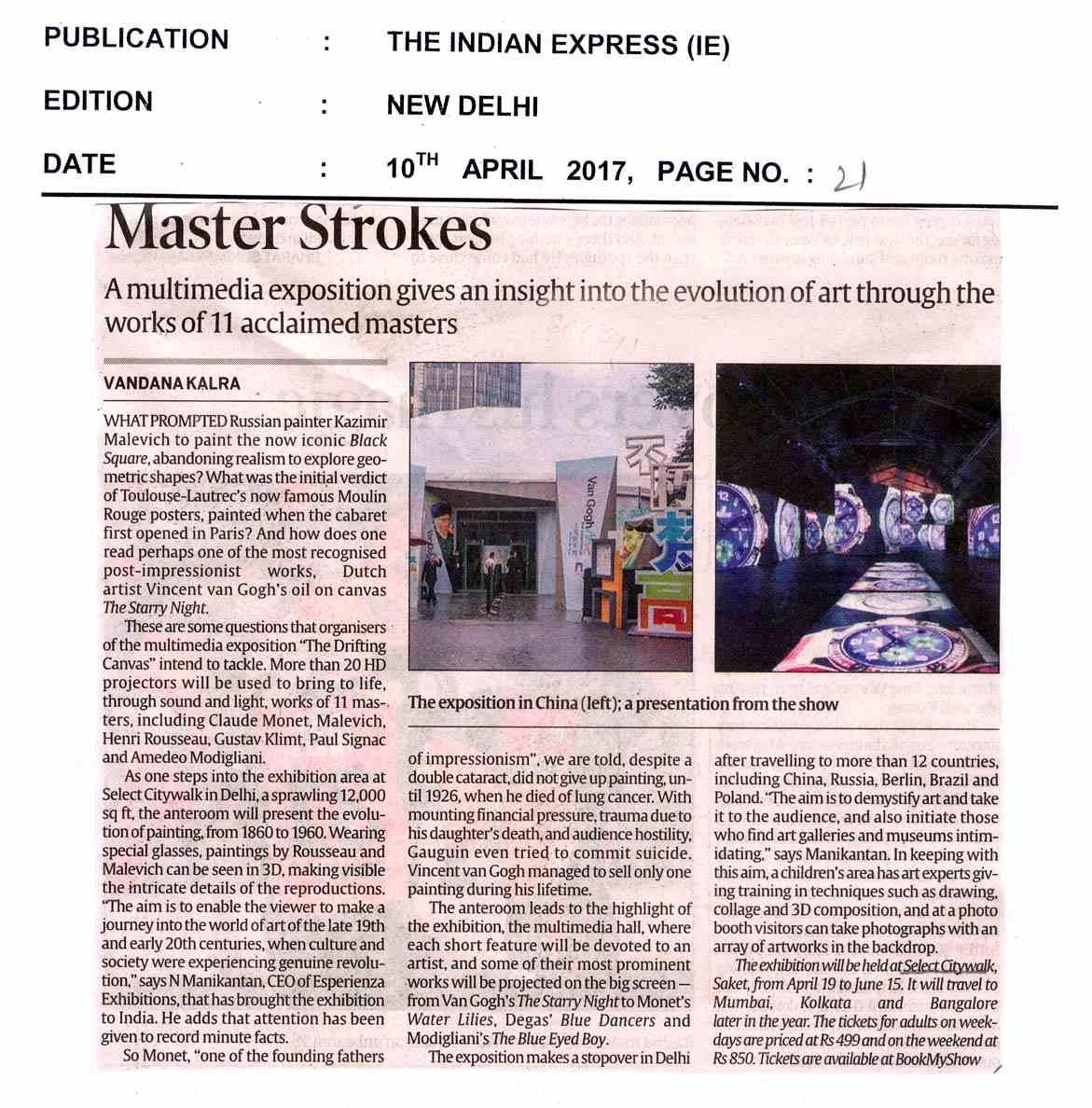 Mastor Strokes-APR