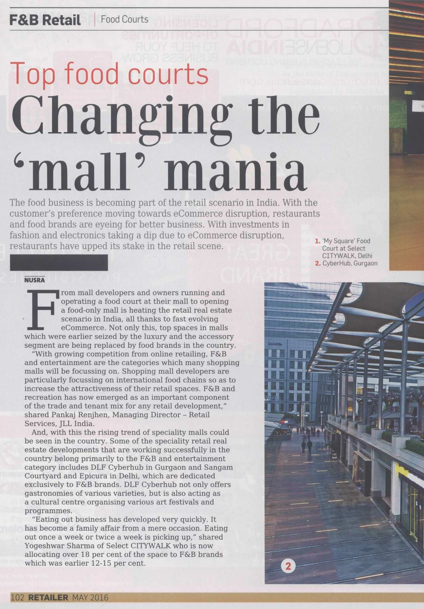 Changing the mall Mania