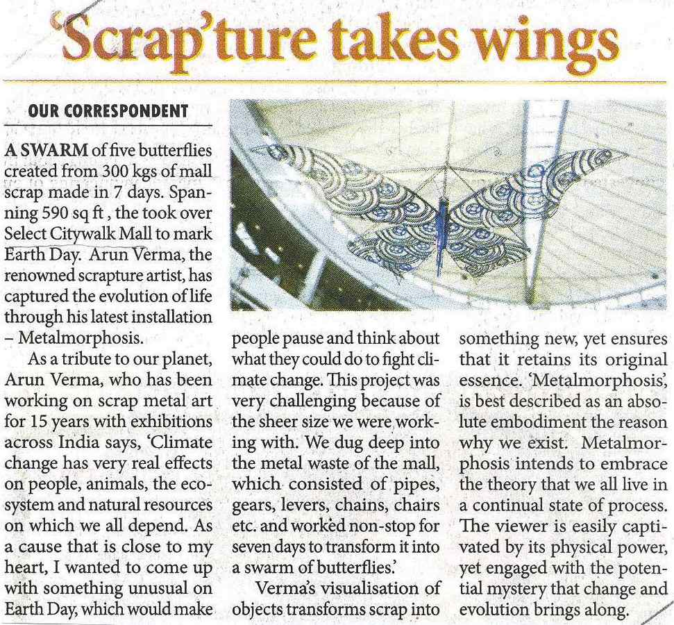 'Scrap' true takes wings