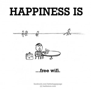 Nothing like free wi-fi
