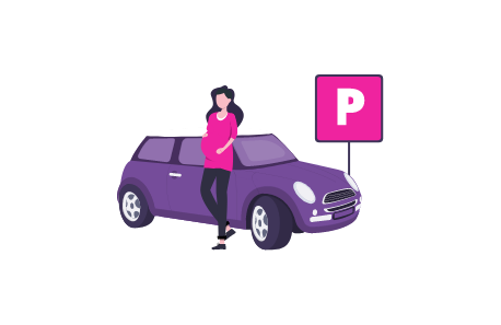 Parking for pregnant