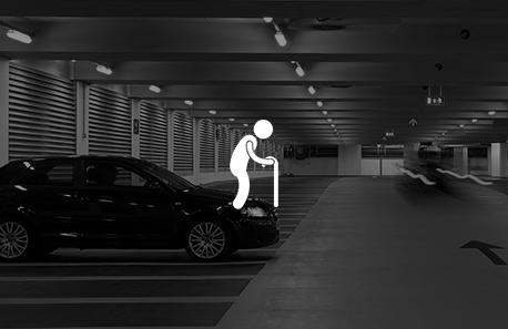Privileged Parking For Senior Citizen