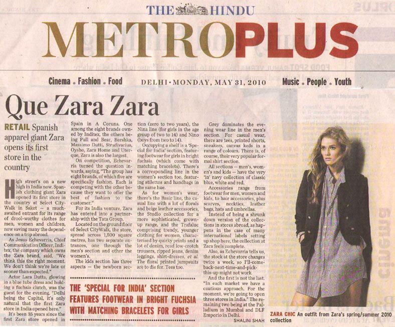 Que Zara Zara-MAY