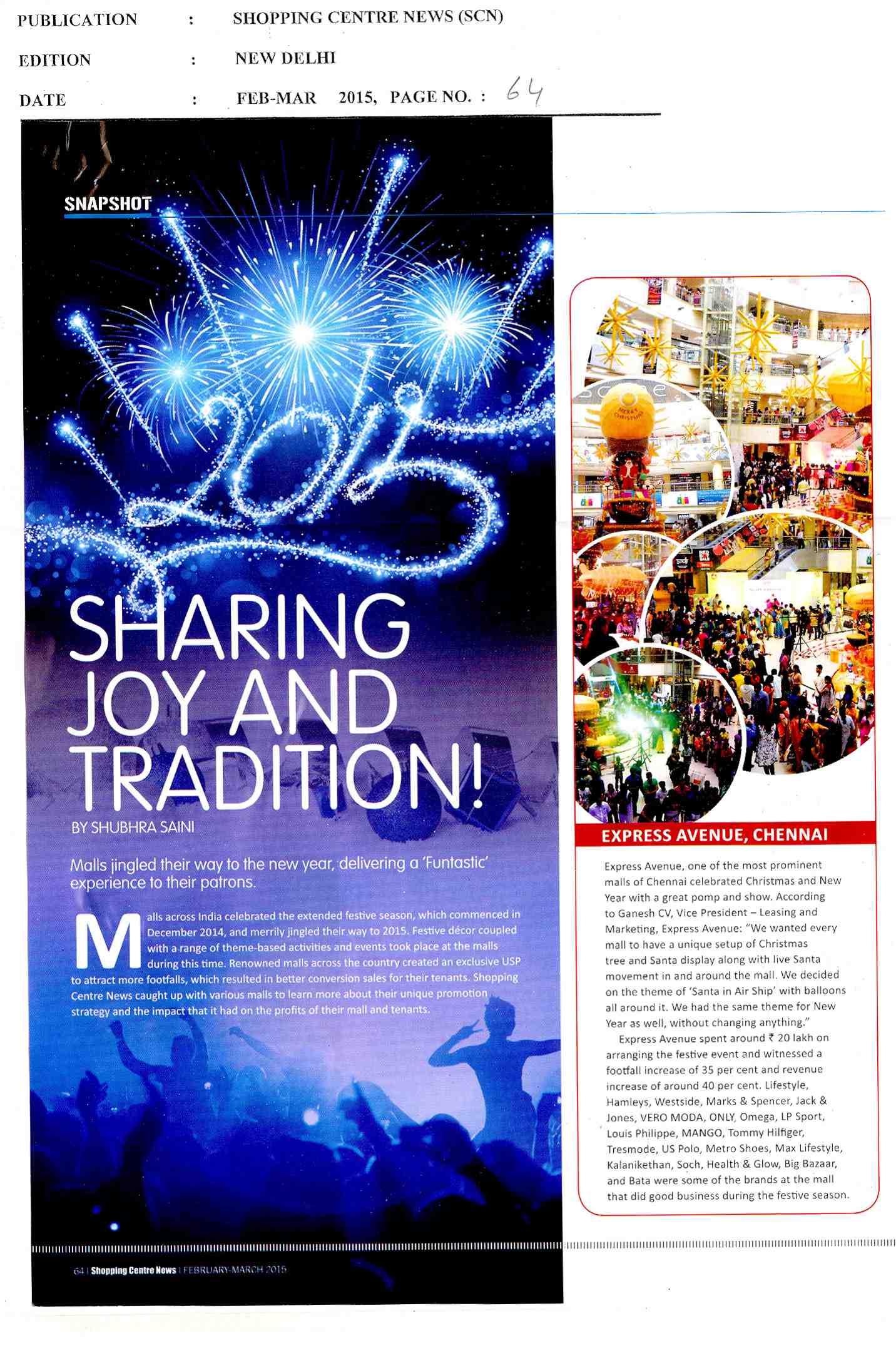 Sharing Joy And tradition!
