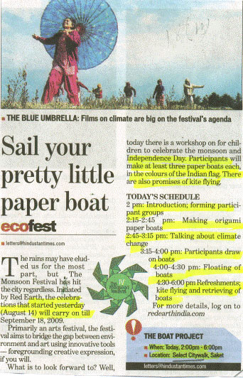 Sail Your Pretty Little Paper Boat-AUG