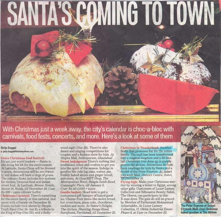 Santa's Coming To Town-DEC
