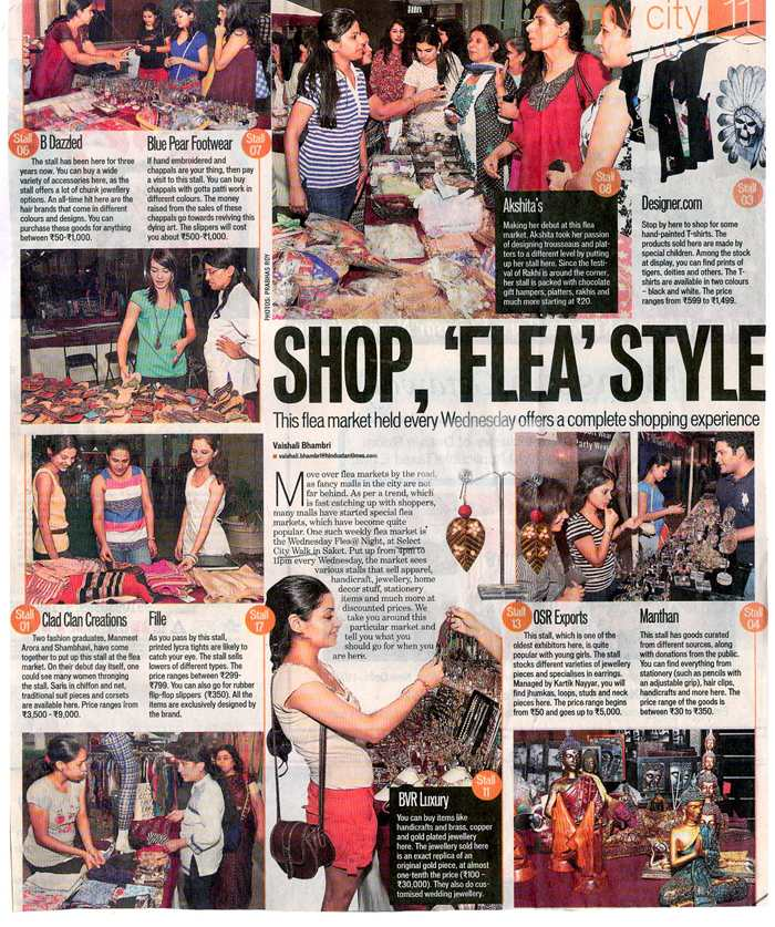 Shop, 'flea' Style