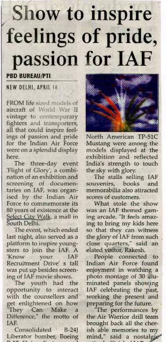 Show To Inspire Feelings Of Pride, passion For Iaf