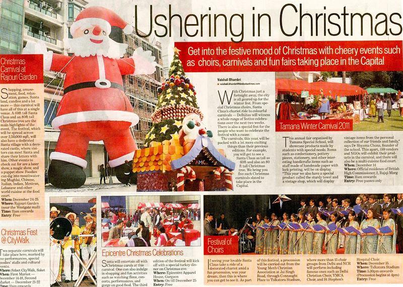 Ushering In Christmas