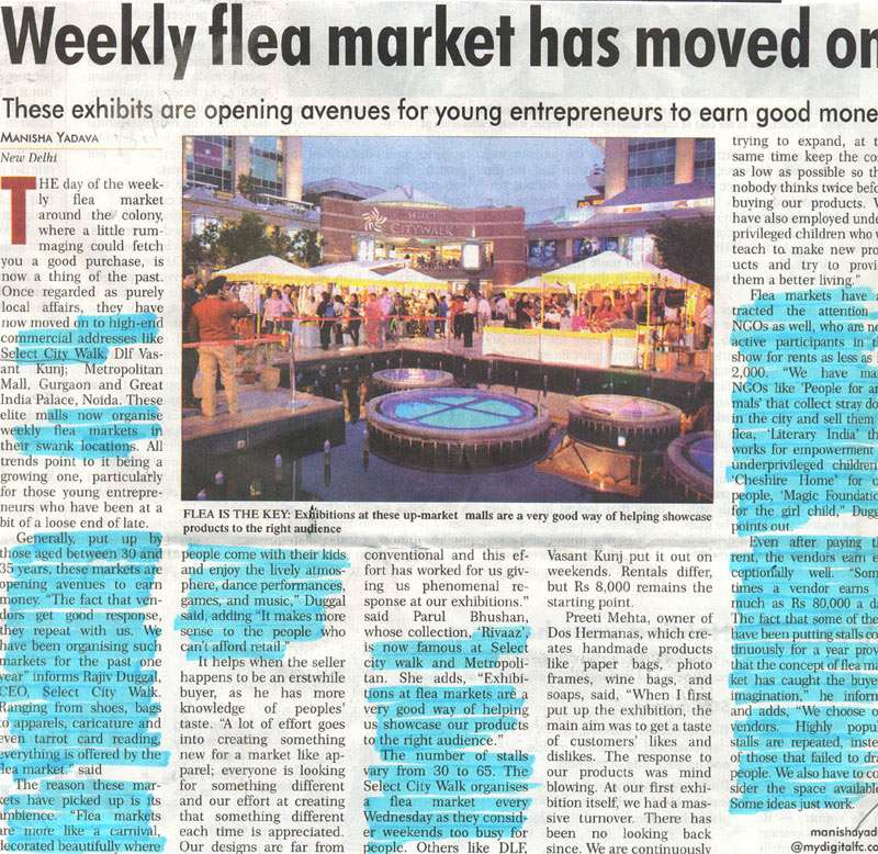 Weekly Flea Market Has Moved On-SEP