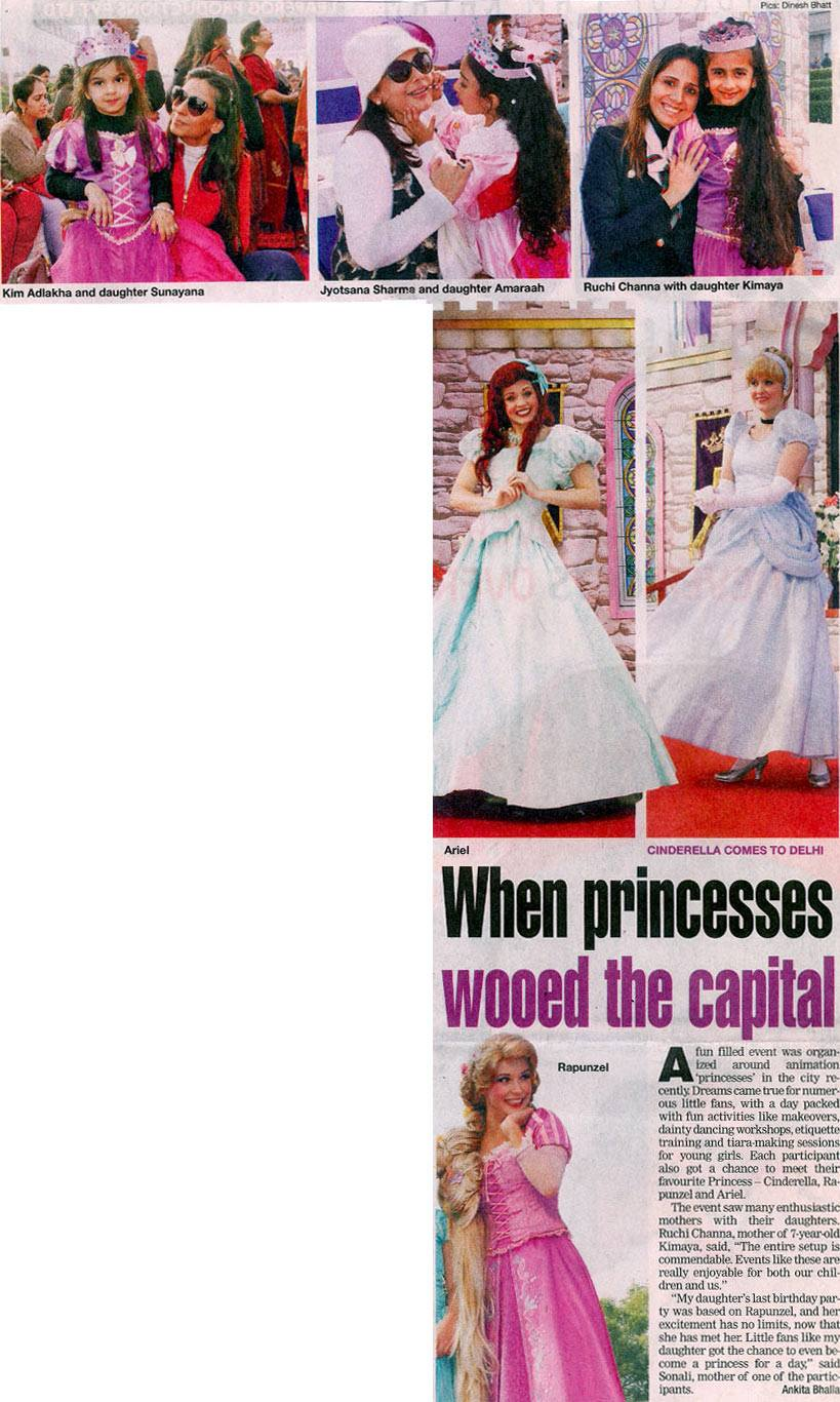When Princesses Wooed The Capital