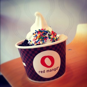 Frozen Yogurt at Red Mango