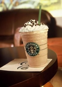 Frappuccino at Starbucks