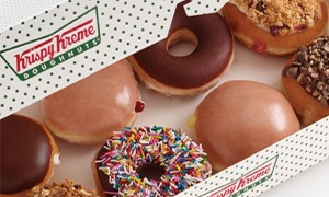 Donuts at Krispy Kreme